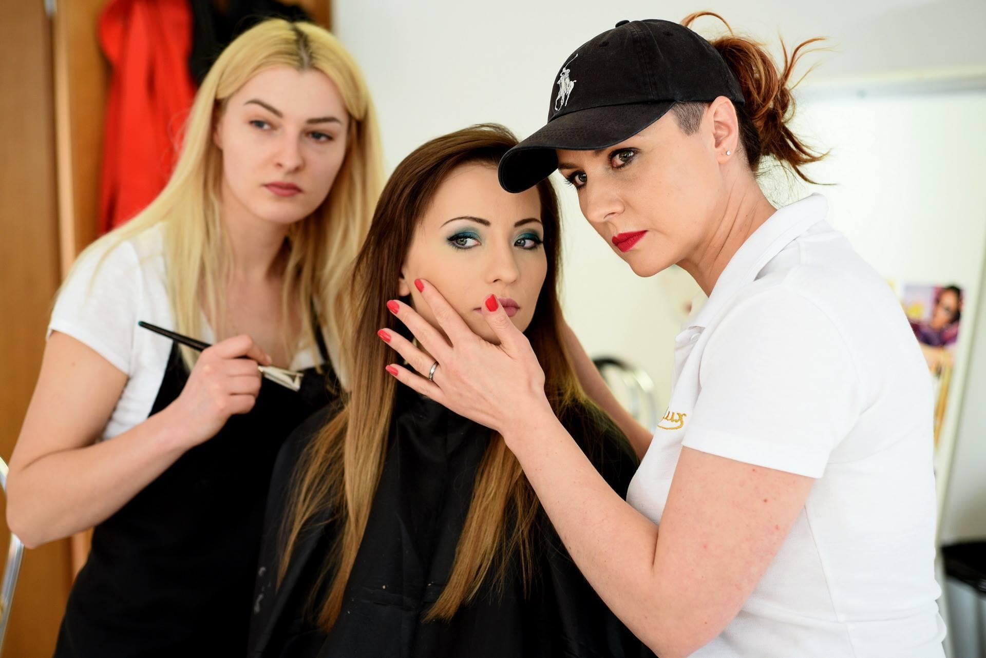 szkolenie wizaż analiza makijażu