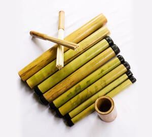 bambusy masaż bambusami