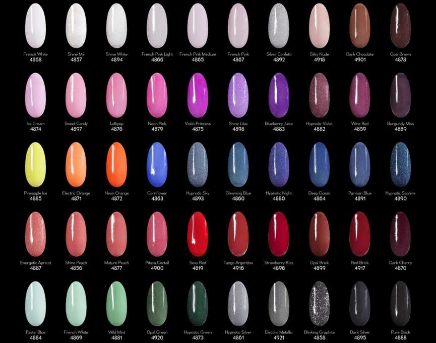 patela kolorow manicure tytanowy revi